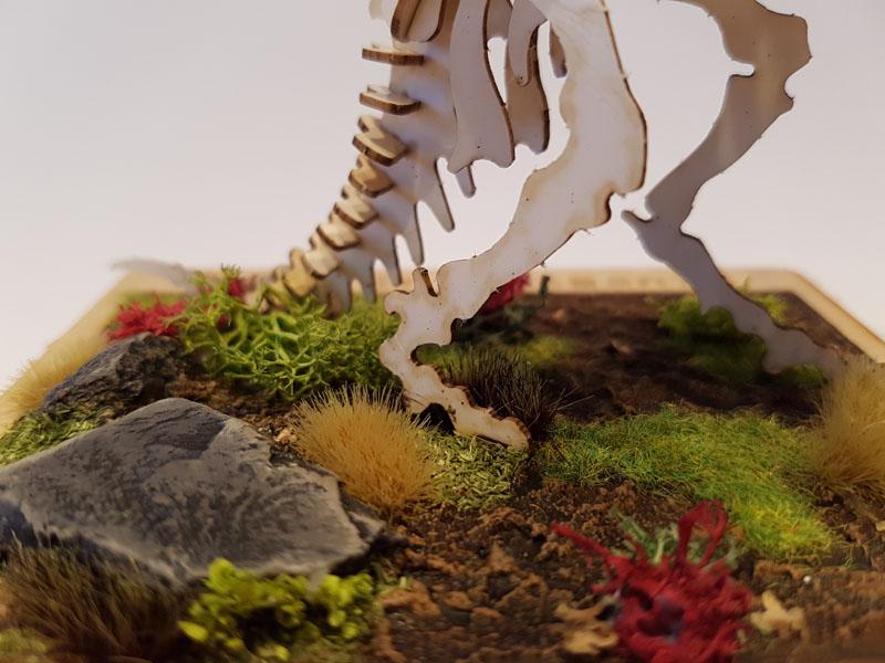 Dinosaur base, featured