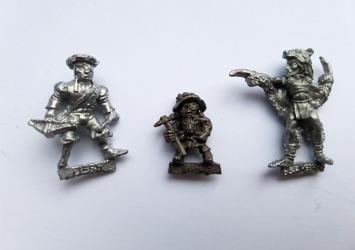 Mercenary, alternate Gimble, and Wood Elf Druid