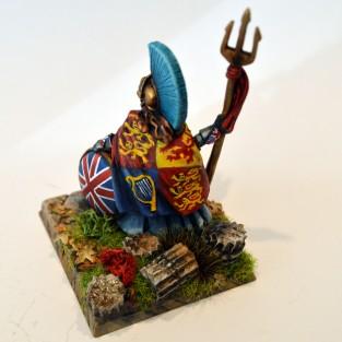Britannia, rear