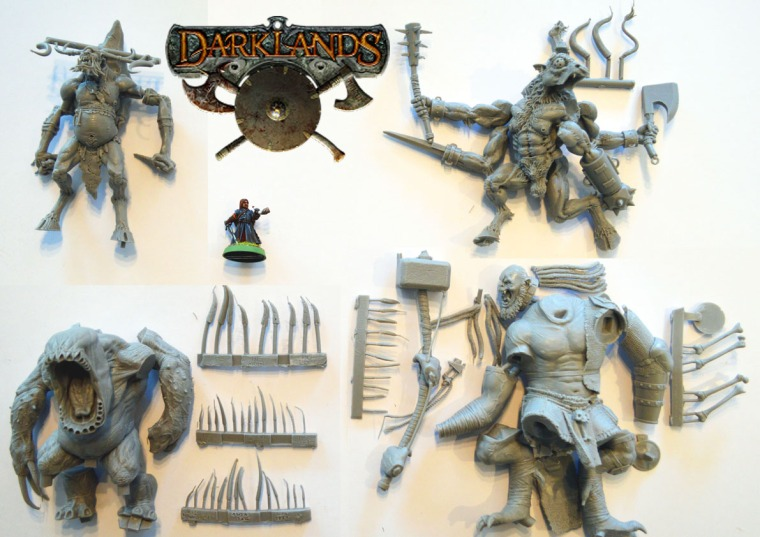 Monstrous Mierce Miniatures