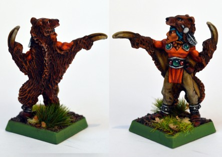 Wood Elf Bear Master