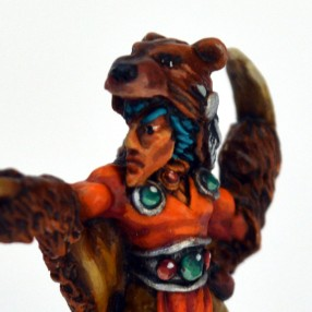 Wood Elf Bear Master - Face