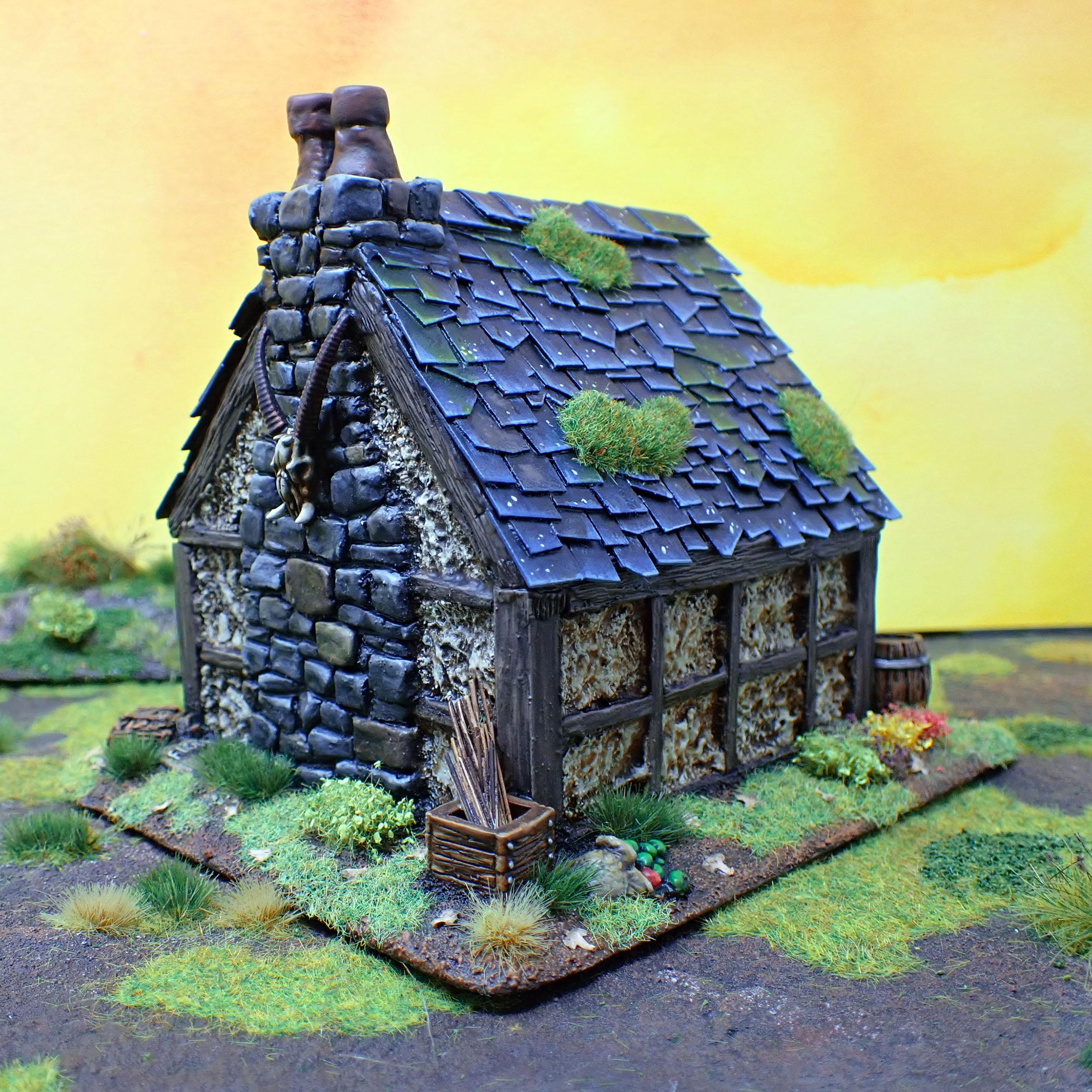 Cottage Back
